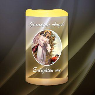Guardian Angel Enlighten Me Battery Candle