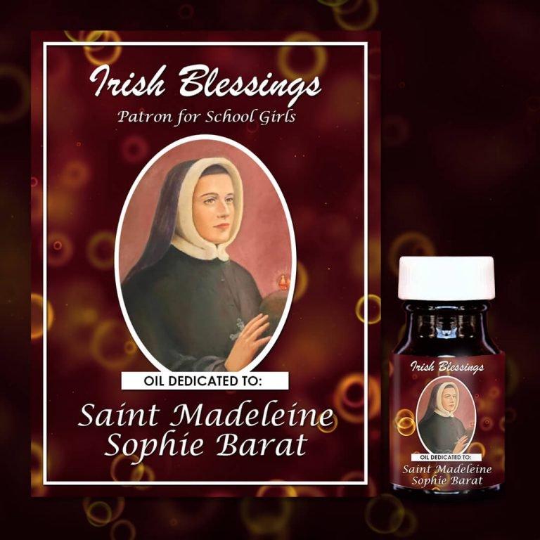 St Madeleine Sophie Barat Healing Oil (Patron for School Children)
